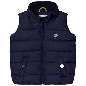 Timberland Boys Coats and jackets Navy Navy Puffer Hooded Gilet