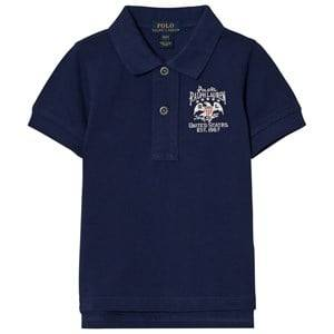 Ralph Lauren Boys Tops Blue Blue Flag Polo Tee