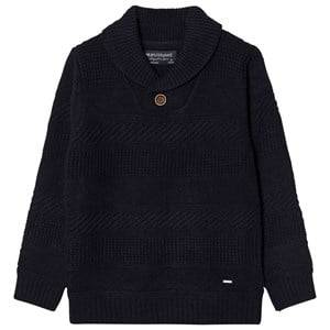 Mayoral Boys Jumpers and knitwear Navy Navy Knit Shawl Neck Jumper