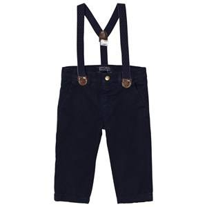 Mayoral Boys Bottoms Navy Navy Chinos with Braces