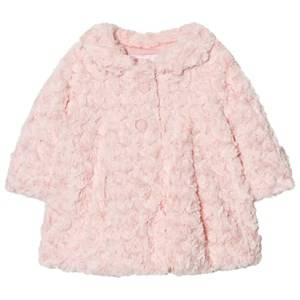Mayoral Girls Coats and jackets Pink Pink Rose Faux Fur Coat