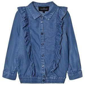 Little Remix Girls Tops Blue Jr Gracie Blouse Denim