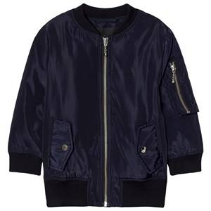Little Remix Girls Coats and jackets Blue Liana Lace-Up Bomber Navy