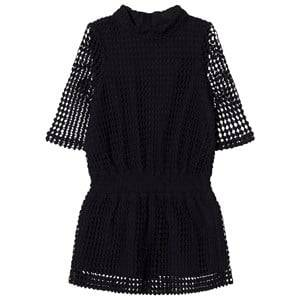 Little Remix Girls Dresses Black Amelie Lace Dress Black