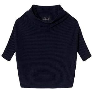 Little Remix Girls Jumpers and knitwear Blue Jr Ribly Drape Navy