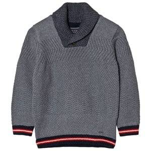 Mayoral Boys Jumpers and knitwear Grey Grey Shawl Collar Jumper