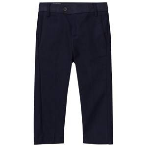 Mayoral Boys Bottoms Navy Navy Smart Trousers with Printed Waistband