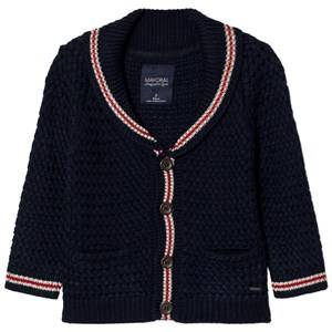 Mayoral Boys Jumpers and knitwear Navy Navy Red Detailing Chunky Cardigan