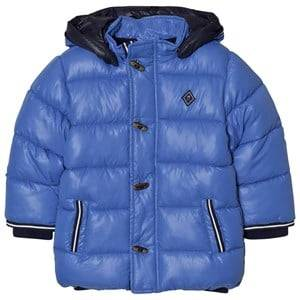 Mayoral Boys Coats and jackets Blue Blue Hooded Puffer Coat