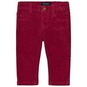 Mayoral Boys Bottoms Red Berry Slim Fit Cords