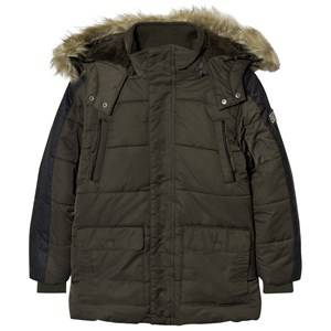 Mayoral Boys Coats and jackets Navy Khaki Padded Parka