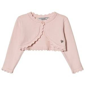 Mayoral Girls Jumpers and knitwear Pink Pale Pink Knit Bolero