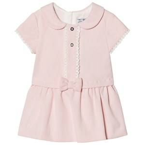 Mayoral Girls Dresses Pink Pale Pink Micro Cord Dress