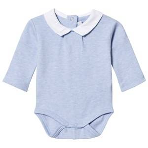 Mayoral Boys All in ones Blue Blue Marl Collared Baby Body