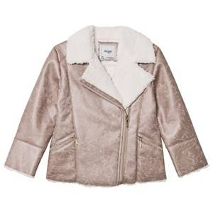 Mayoral Girls Coats and jackets Brown Brown Faux Shearling Jacket