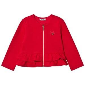 Mayoral Girls Jumpers and knitwear Red Red Milano Peplum Cardigan