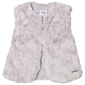 Mayoral Girls Coats and jackets Grey Grey Textured Faux Fur Gilet