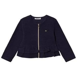 Mayoral Girls Jumpers and knitwear Navy Navy Milano Peplum Cardigan