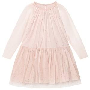 Stella McCartney Kids Girls Dresses Pink Pale Pink Misty Hotfix Dress