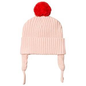Stella McCartney Kids Girls Headwear Pink Pink Sherry Pom Pom Baby Hat