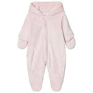 Absorba Girls All in ones Pink Pale Pink Teddy Fleece Coverall