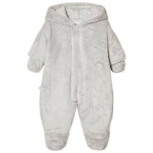 Absorba Unisex All in ones Grey Grey Teddy Fleece Coverall