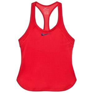 NIKE Girls Tops Pink Pink Tennis Dry Slam Tank Top