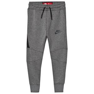 NIKE Boys Fleeces Grey Tech Fleece Pants Gray