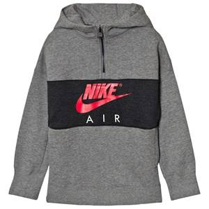 NIKE Boys Jumpers and knitwear Grey Nike Air Half Zip Hoodie Gray