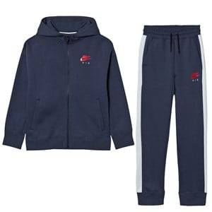 NIKE Boys Clothing sets Navy Nike Air Fleece Cuffed Tracksuit Thunder Blue