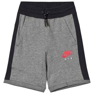 NIKE Boys Shorts Grey Nike Air Fleece Shorts Gray