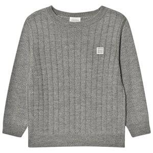 Carrément Beau Boys Jumpers and knitwear Grey Grey Knit Sweater