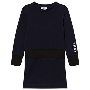 DKNY Girls Dresses Navy Navy Branded Sweat Dress