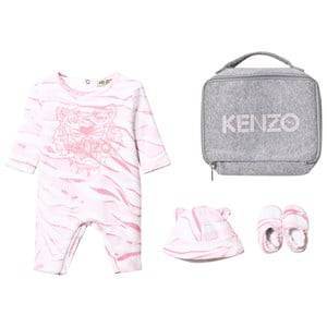 Kenzo Girls Clothing sets Pink Pink Tiger Baby Body, Hat and Booties Gift Set