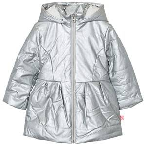 Billieblush Girls Coats and jackets Silver Silver Metallic Teddy Jacket