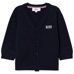 Boss Boys Jumpers and knitwear Navy Knit Cardigan Navy