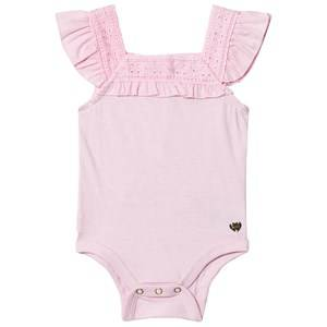 Juicy Couture Girls All in ones Pink Pink Baby Body Flounce
