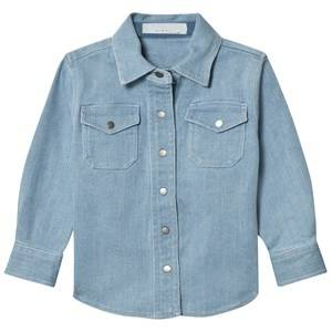 Stella McCartney Kids Girls Tops Blue Blue Denim Dallas Shirt
