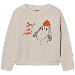 Bobo Choses Unisex Jumpers and knitwear Beige Sweatshirt Loup de Mer