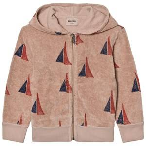 Bobo Choses Unisex Jumpers and knitwear Beige Hooded Sweatshirt Alma S.B.