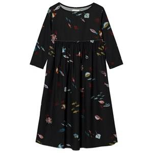 Bobo Choses Girls Dresses Black Deep Sea Princess Dress