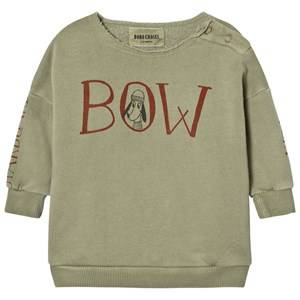 Bobo Choses Unisex Jumpers and knitwear Beige Baby Sweatshirt Bow