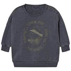 Bobo Choses Unisex Jumpers and knitwear Grey Baby Sweatshirt Captain Ahab