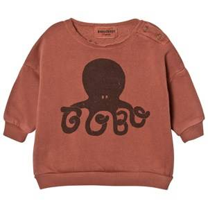 Bobo Choses Unisex Jumpers and knitwear Pink Baby Sweatshirt Octopus