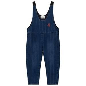 Bobo Choses Unisex All in ones Blue Denim Baggy Overall