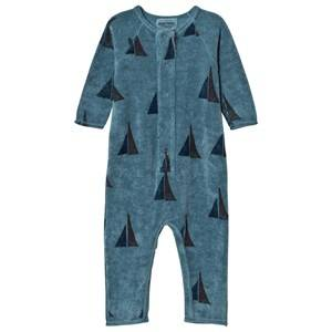 Bobo Choses Unisex All in ones Blue Fleece One-Piece Alma S.B.