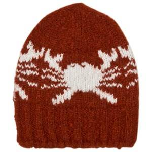 Bobo Choses Unisex Headwear Red Beanie Crabs