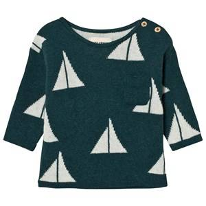 Bobo Choses Unisex Jumpers and knitwear Green Baby Knitted Jumper Alma