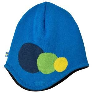 Isbjörn Of Sweden Unisex Headwear Blue Blue Hat 3 Dots