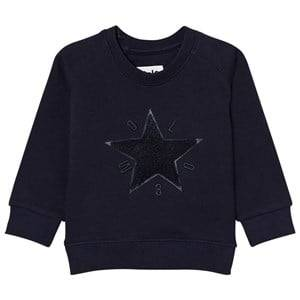 Molo Boys Jumpers and knitwear Blue Dines Sweatshirt Navy Blazer